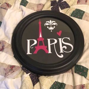 Paris themed wall decor